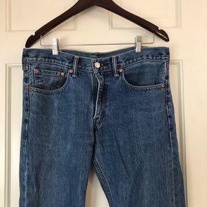 Mens Levi's jeans.